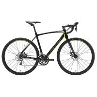 Велосипед Merida CycloCross 90 MattBlack/DarkSilver/Yellow 2019 S(50cm)