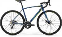 Велосипед Merida CycloCross 300 Petrol (Yellow/Lite Teal) 2019 S(50см)